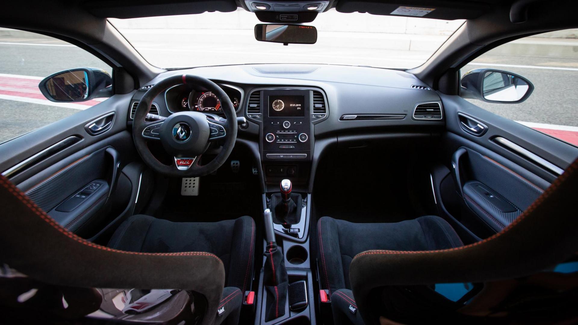 Renault Mégane RS Trophy-R interieur overzicht