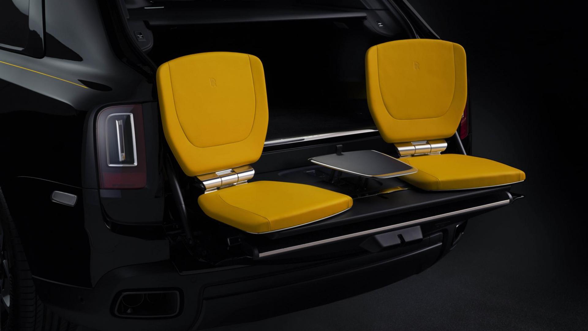 Rolls-Royce Cullinan Black Badge stoeltjes