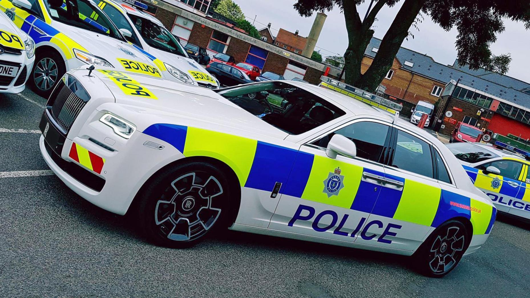 Politie auto's