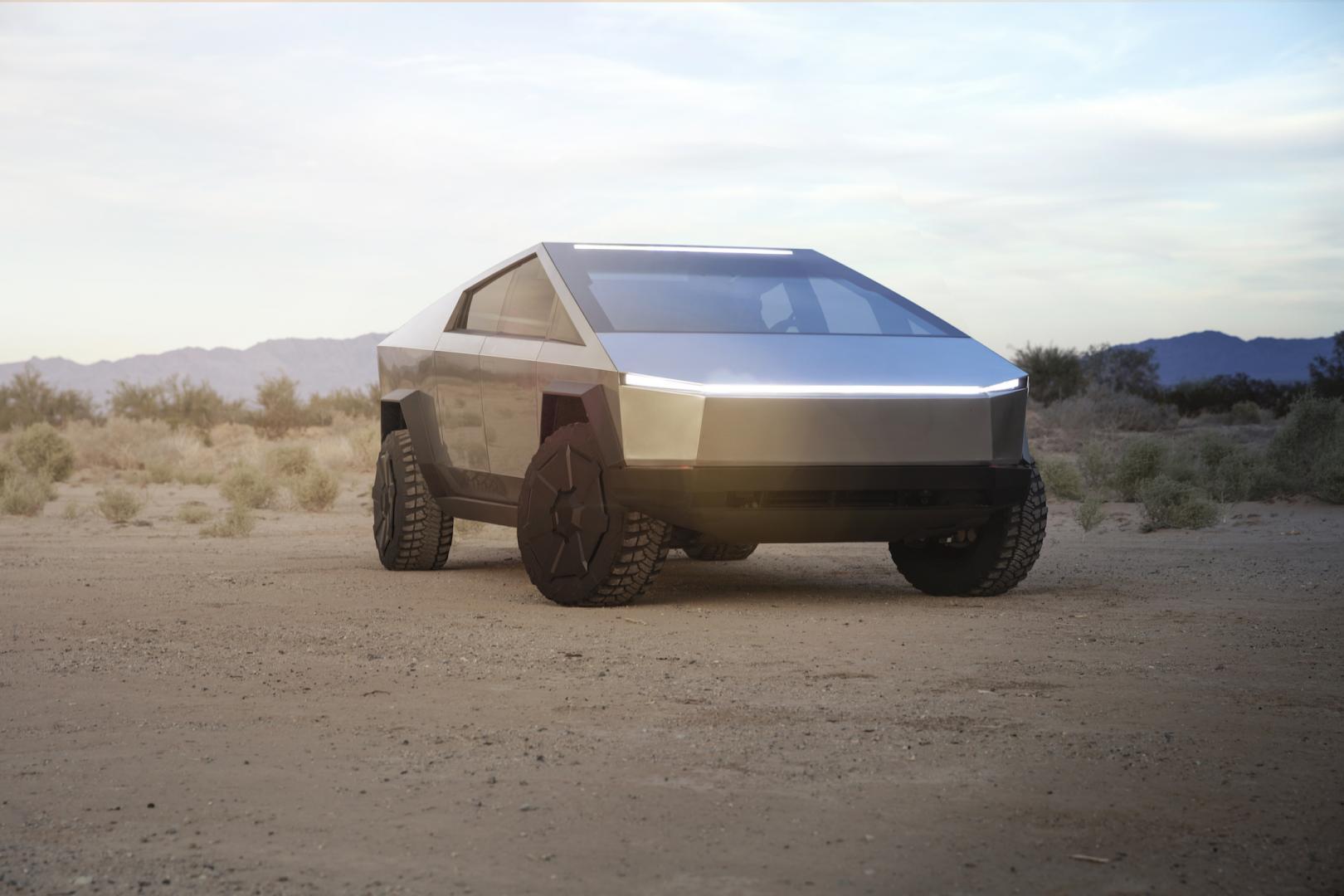 Tesla Cybertruck 2020 3 4 voor rechts