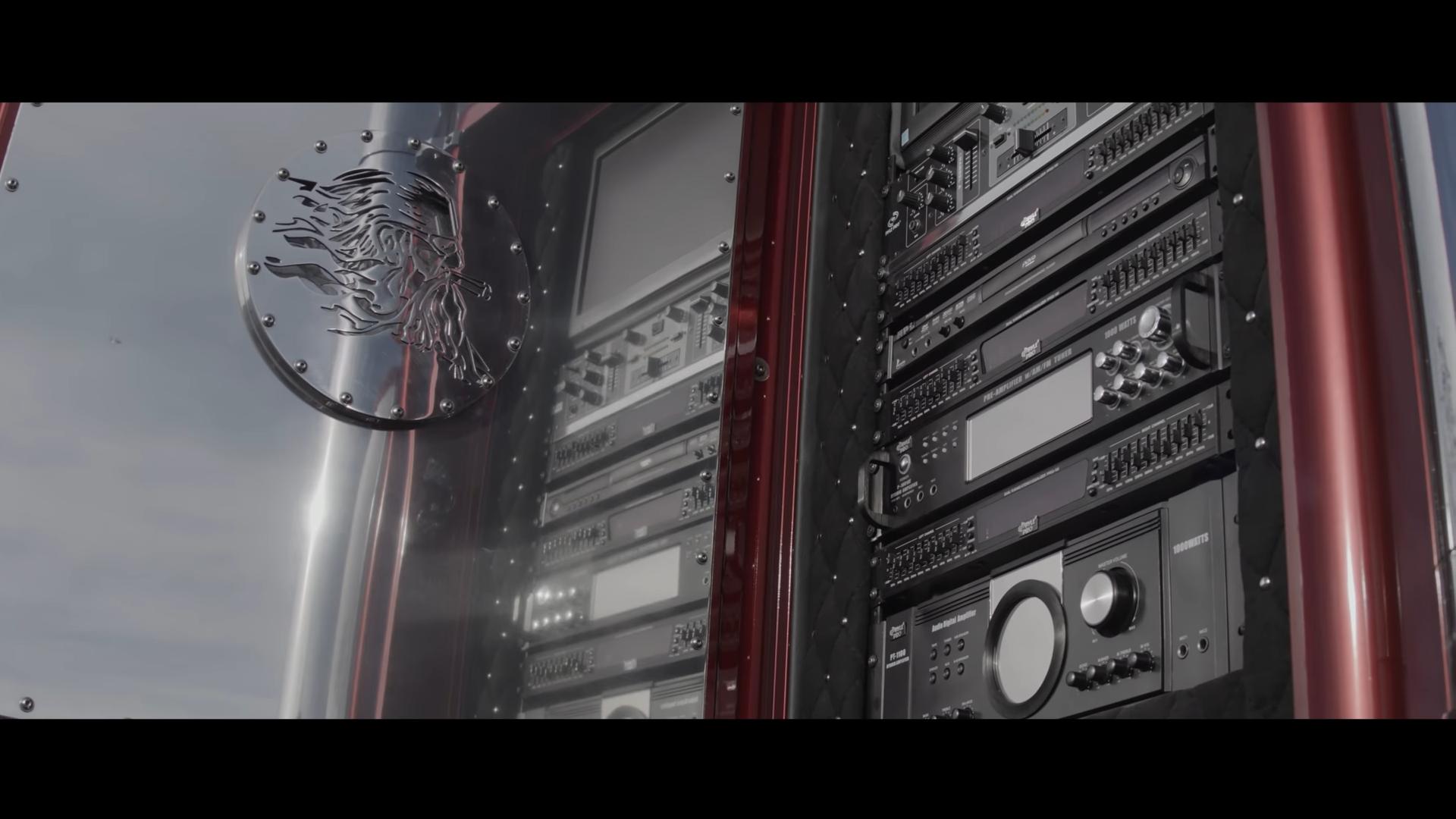 Thor24 geluidsinstallatie