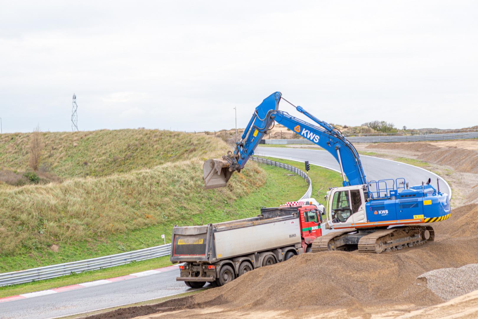 Verbouwing Circuit Zandvoort 2020 F1 werkzaamheden