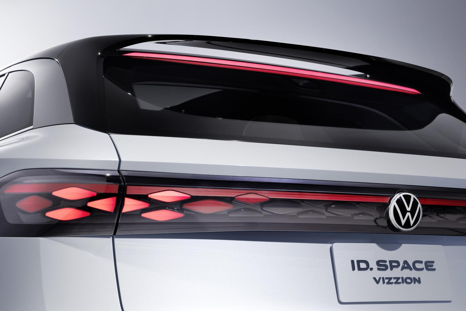 Volkswagen ID. Space Vizzion detail achterlicht