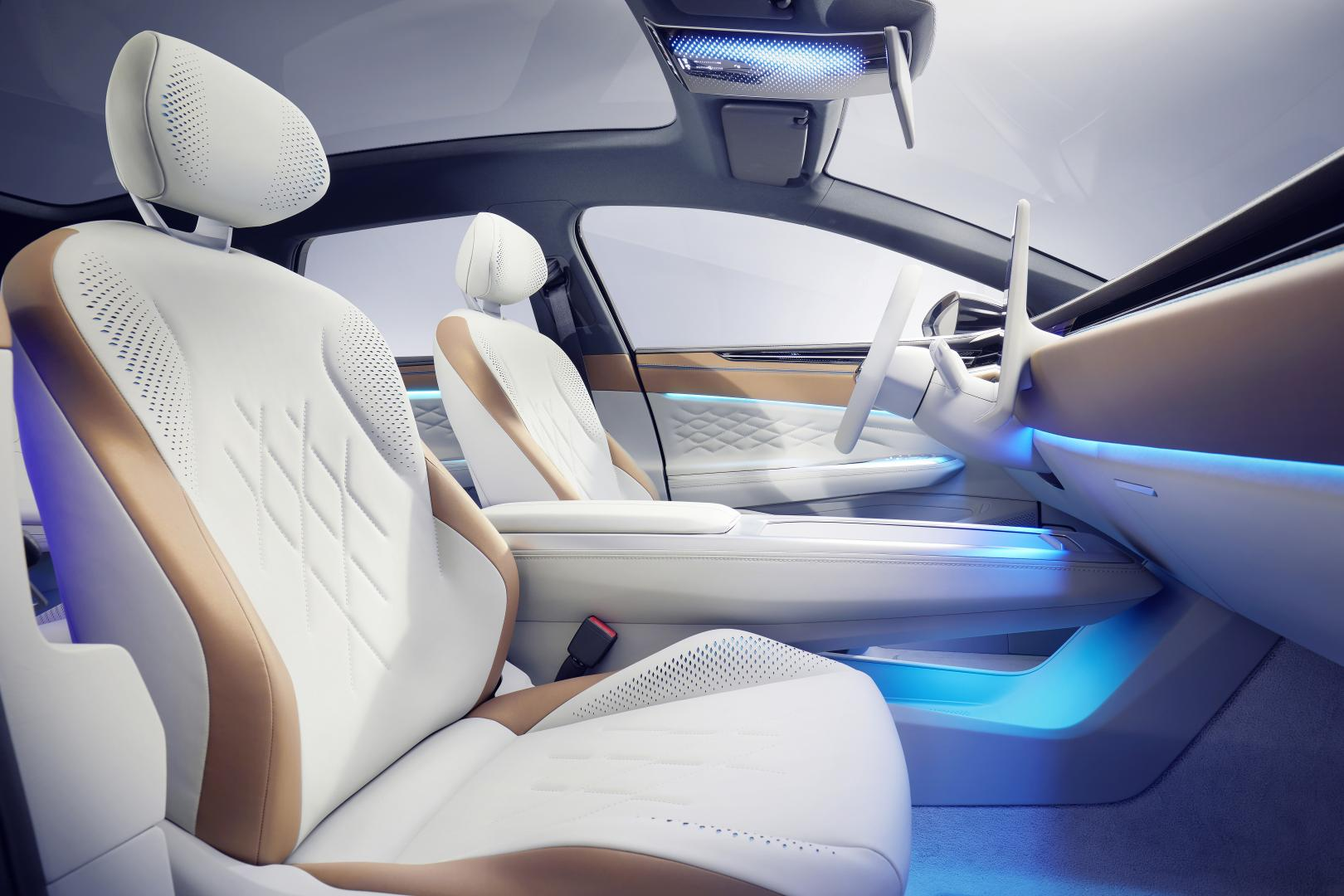 Volkswagen ID. Space Vizzion interieur voorin