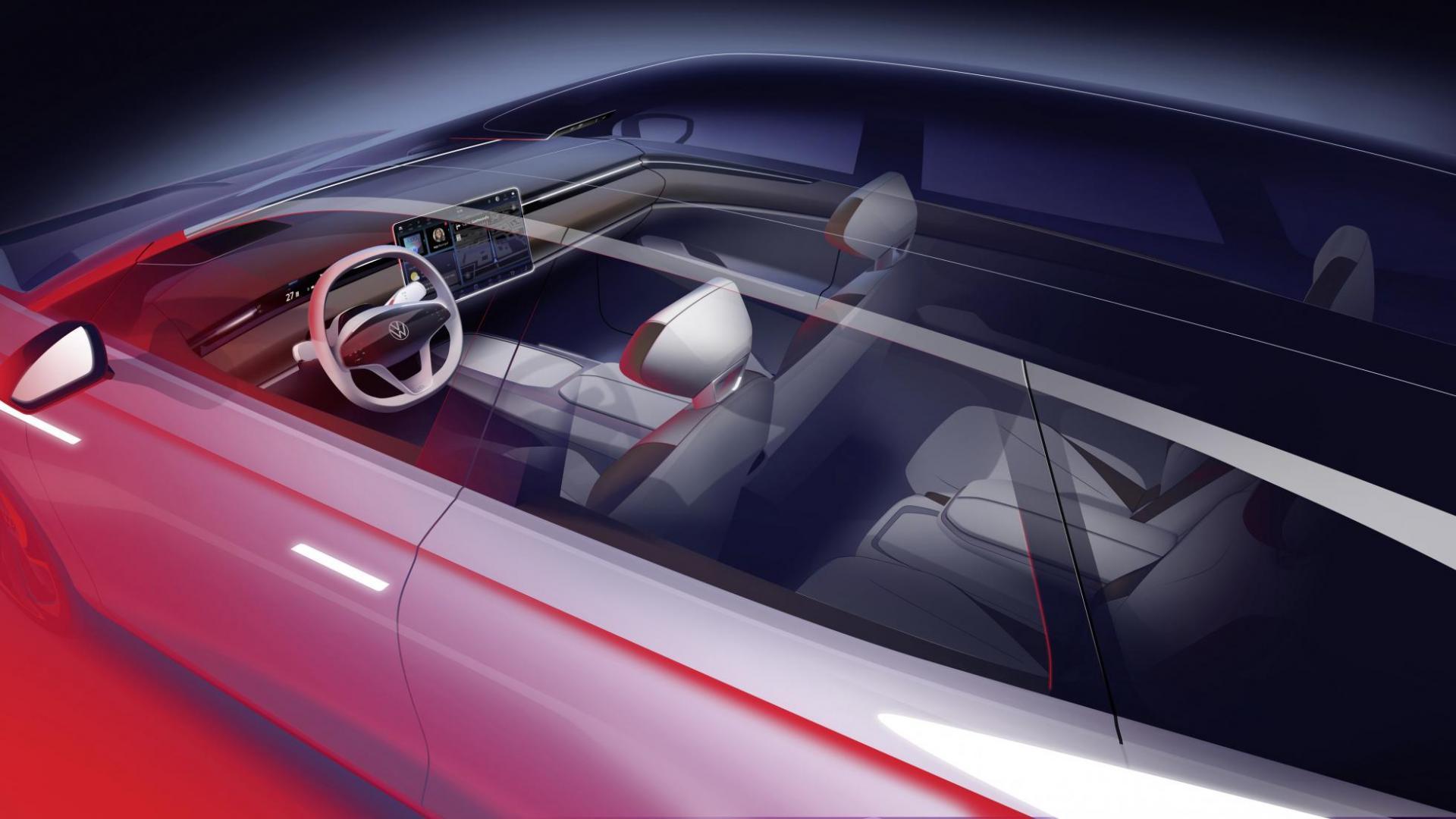 Volkswagen Space Vizzion concept detail doorzichtbaar dak