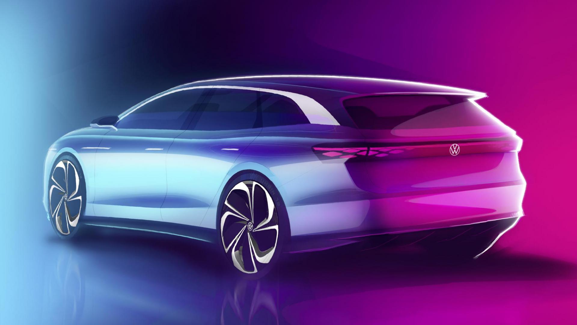 Volkswagen Space Vizzion concept drie kwart achter
