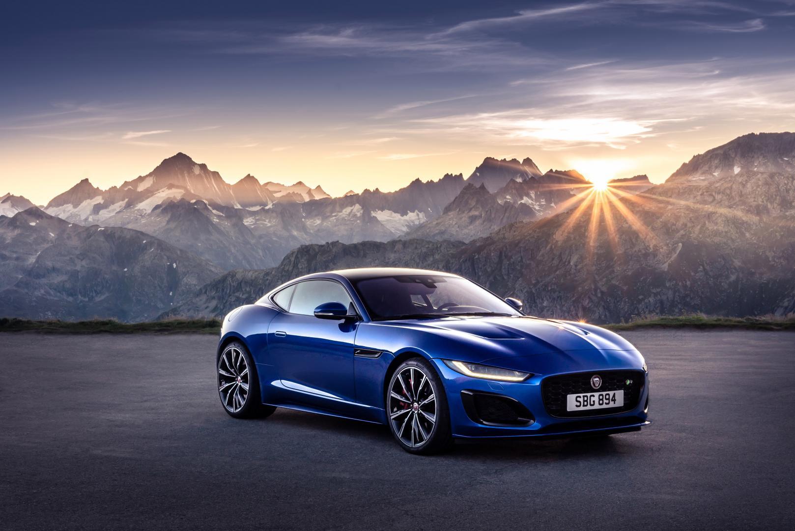 Jaguar F-type facelift 2021