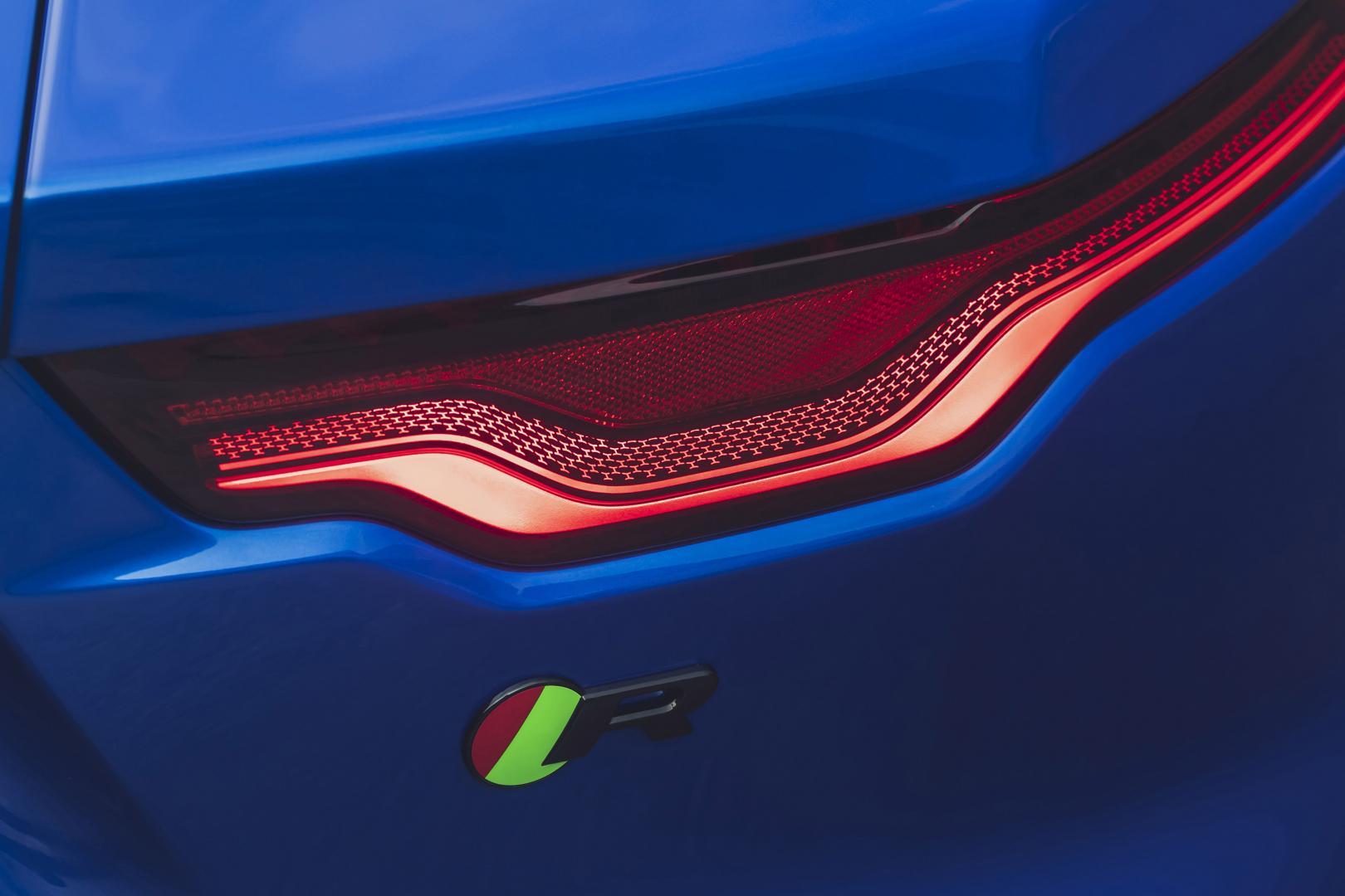 Jaguar F-type facelift 2021 achterlicht