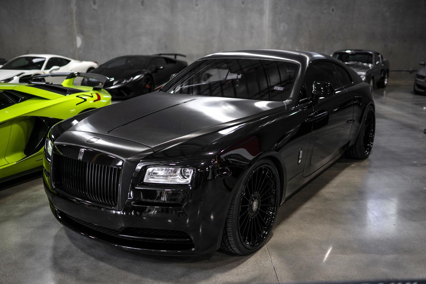 Autobahn Alliance auto-opslag Rolls-Royce Wraith