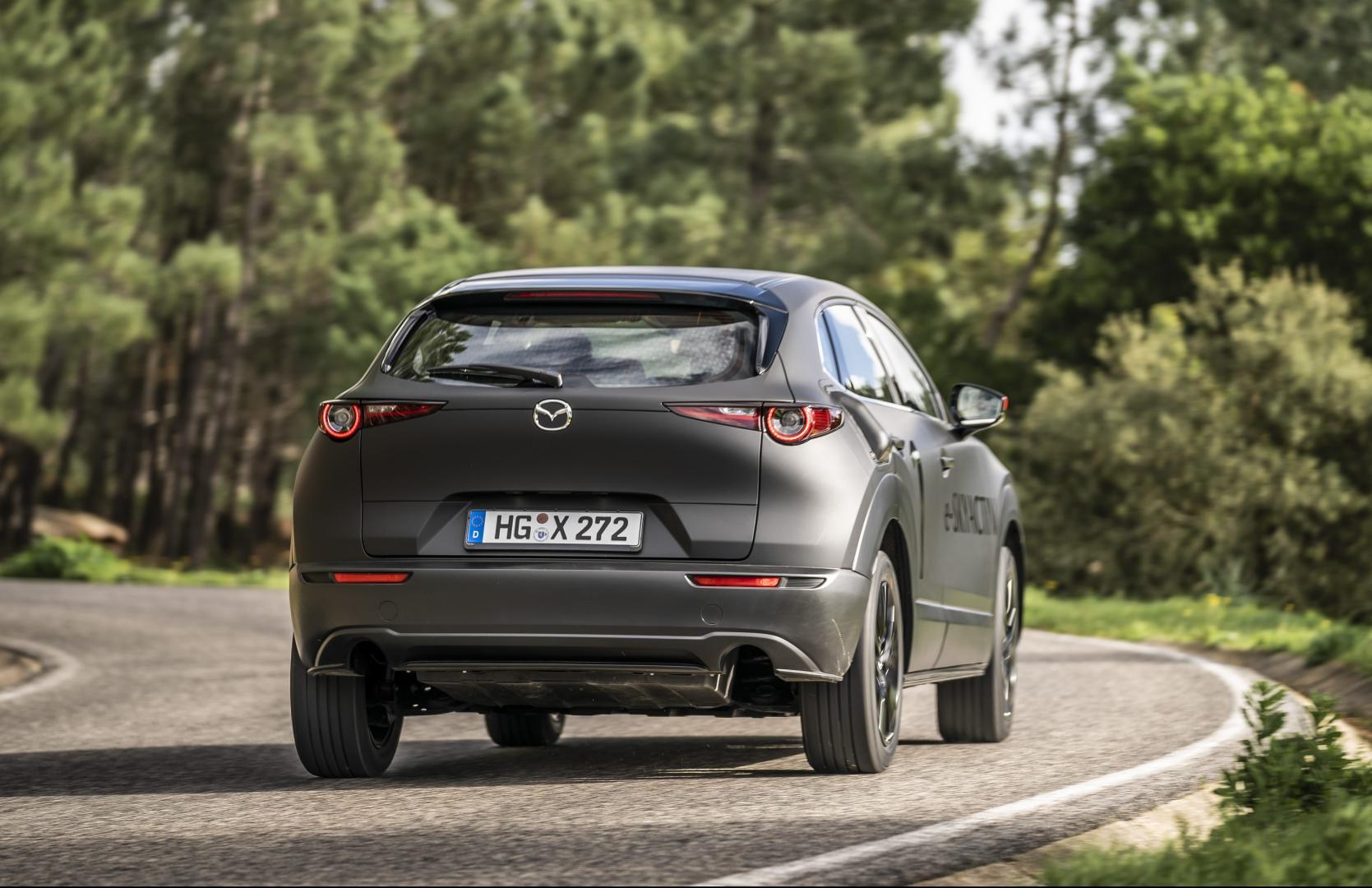 Mazda MX-30 prototype 2020 1e rij-indruk