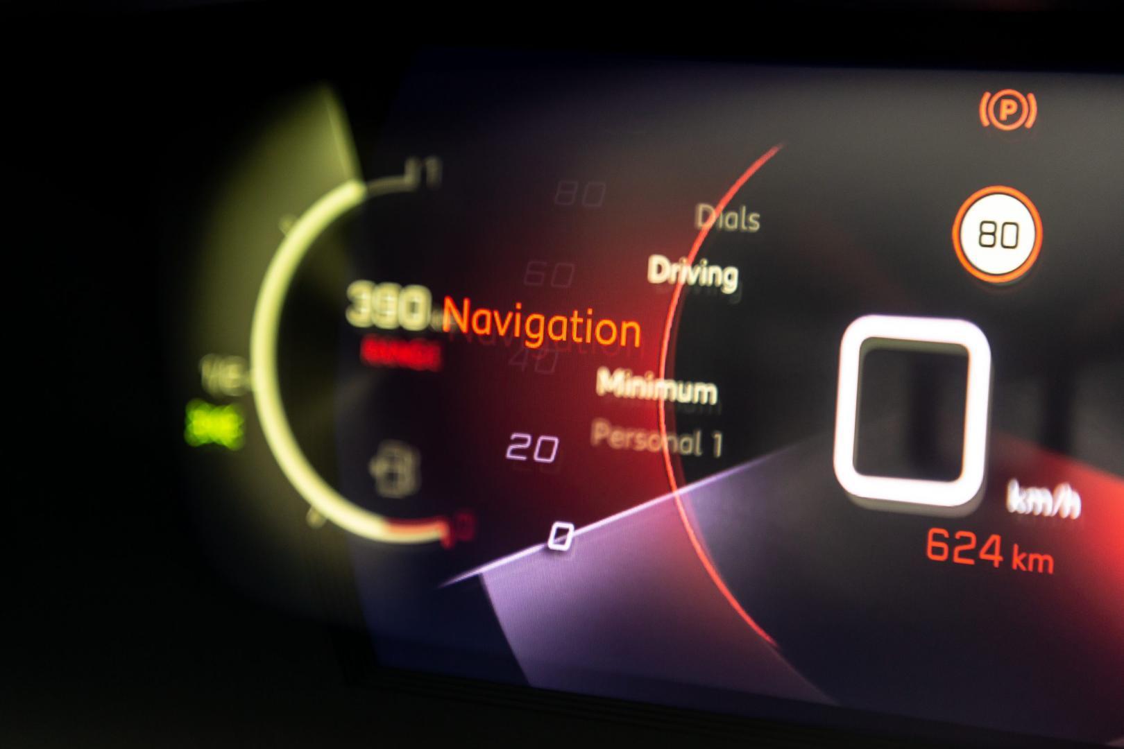 Peugeot 2008 1e rij-indruk 2020 tellers tellerscherm scherm 3D