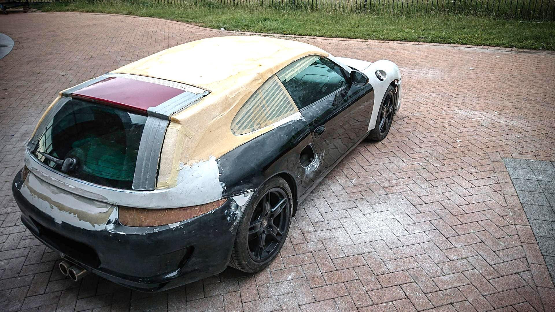 Porsche Boxsters shooting brake door Van Thull Development