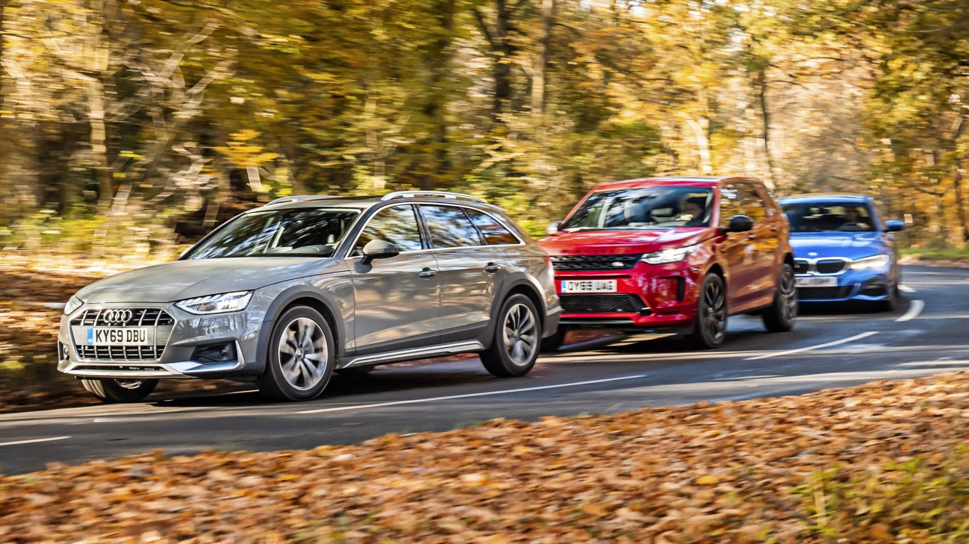Audi A4 Allroad vs BMW 3-serie vs Land Rover Discovery