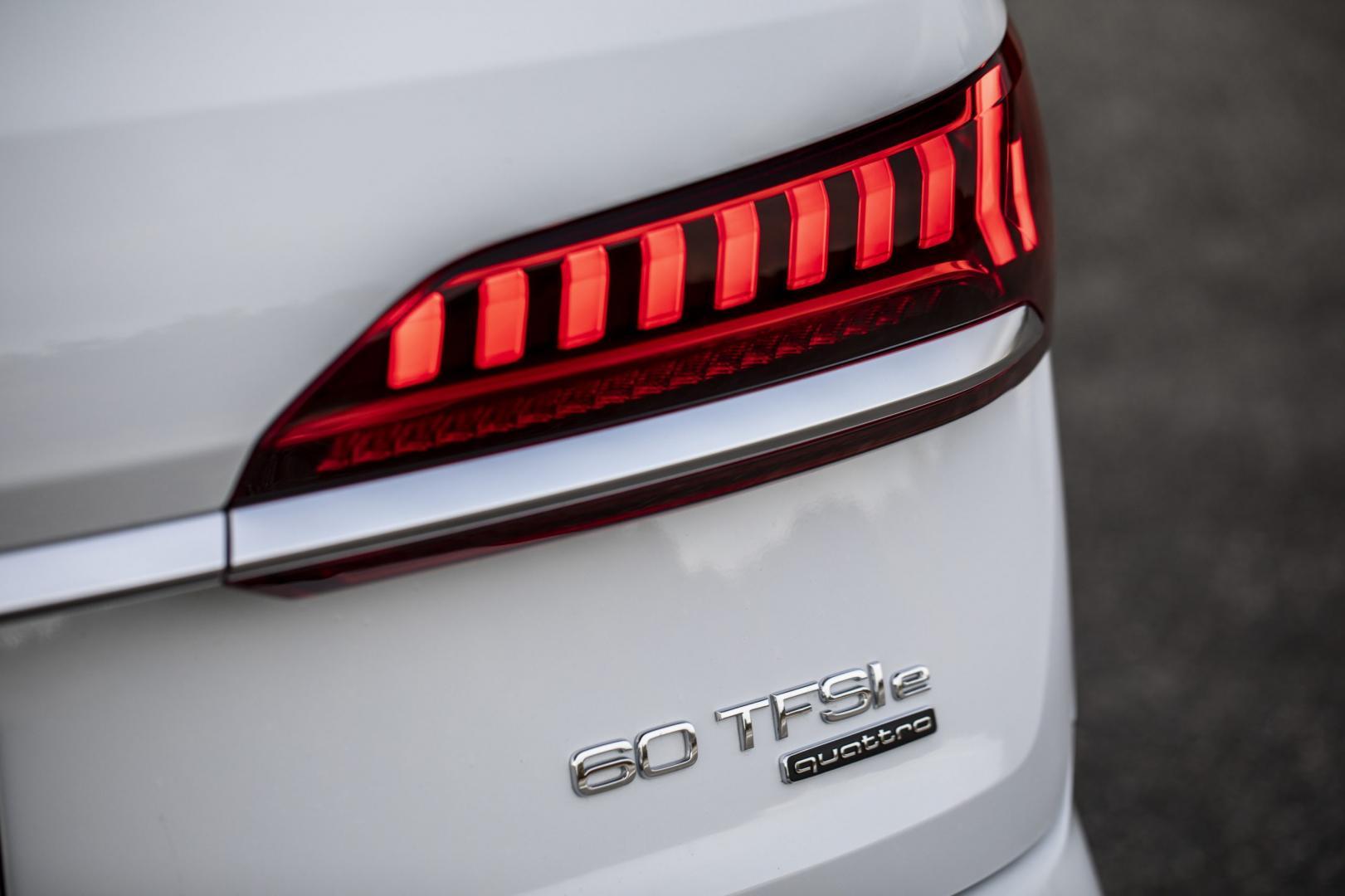 Audi Q7 TFSI e achterlicht
