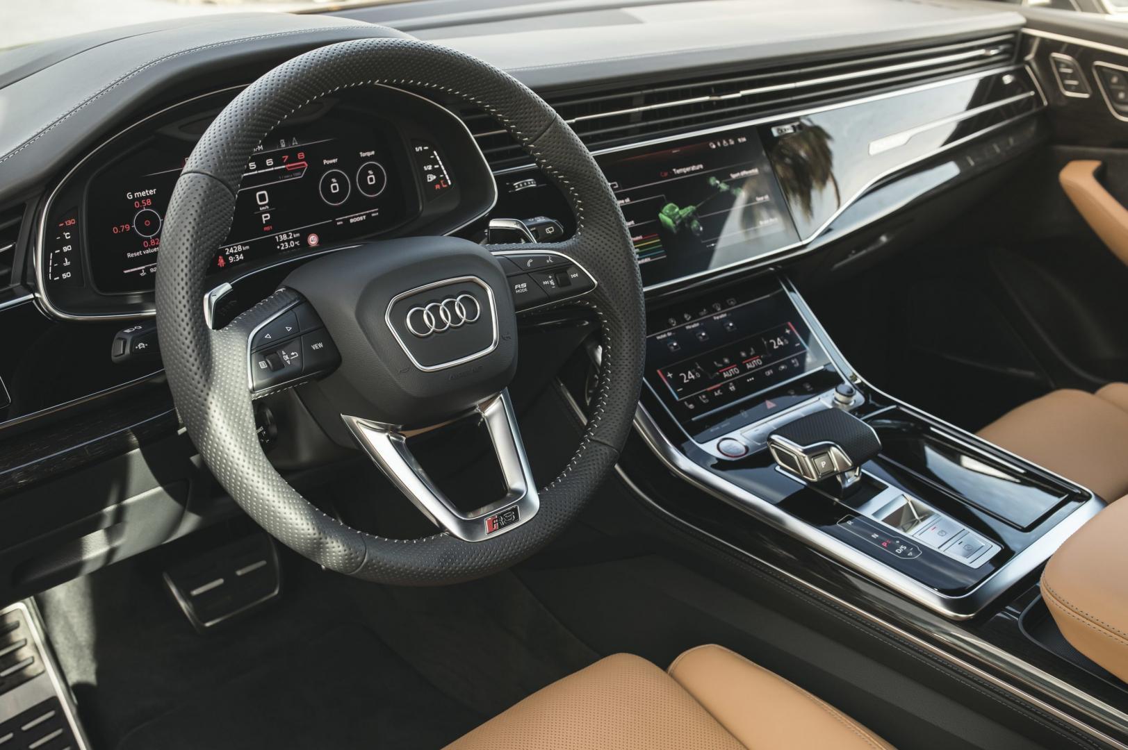 Audi RS Q8 2020 interieur