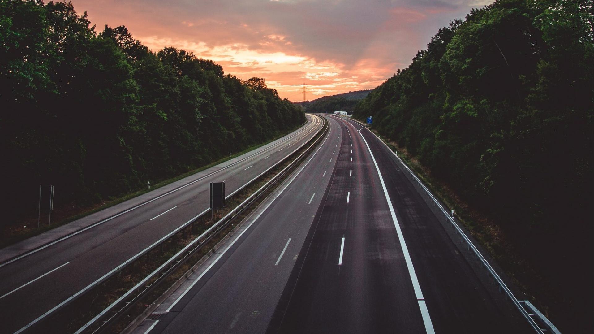 Autobahn in Duitsland