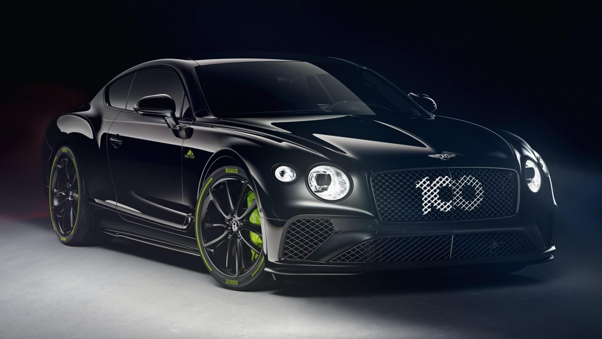Bentley Continental GT Pikes Peak 3 4 voor zwart