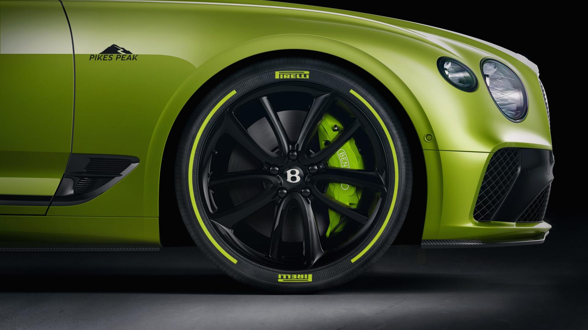 Bentley Continental GT Pikes Peak detail wiel