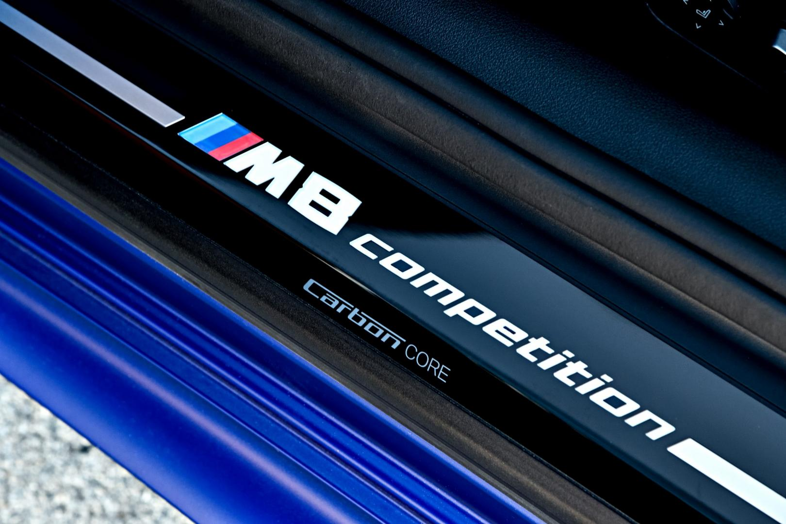 BMW M8 Competition detail dorpel