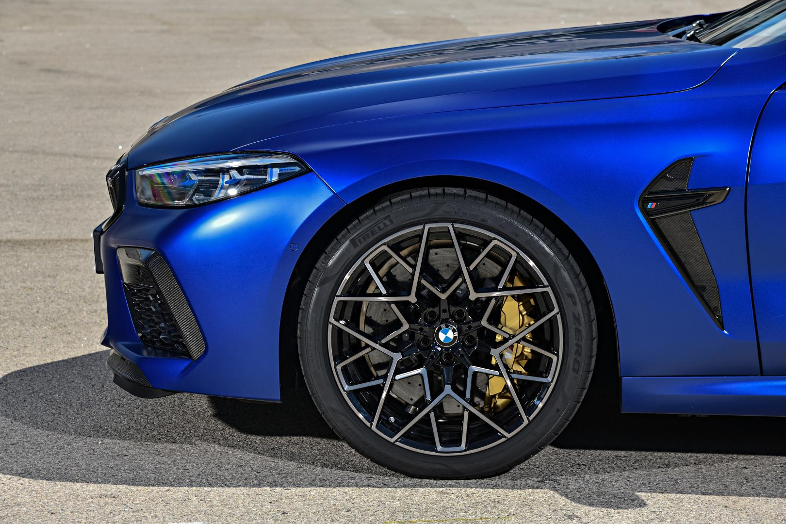 BMW M8 Competition detail velg