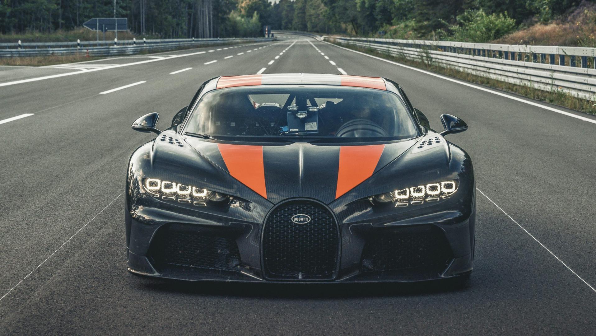 Bugatti Chiron Super Sport 300 + voor