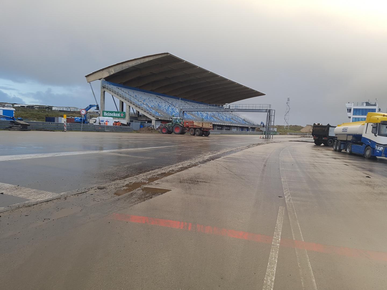 Circuit Zandvoort 2 december voor start/finish