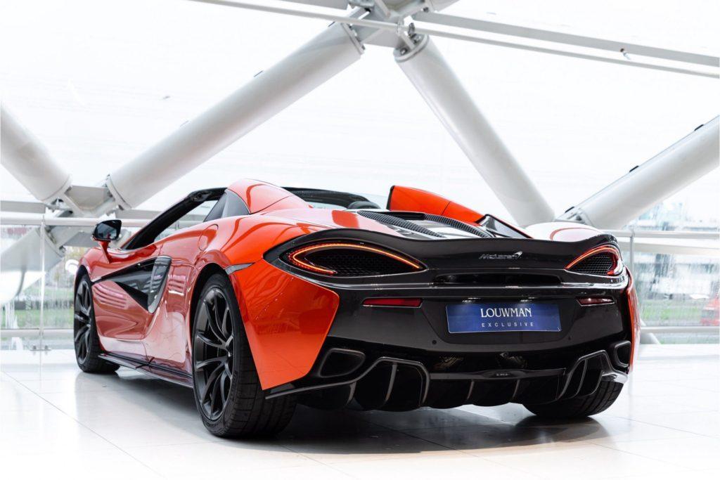 McLaren 570 S Spider 3 4 achter