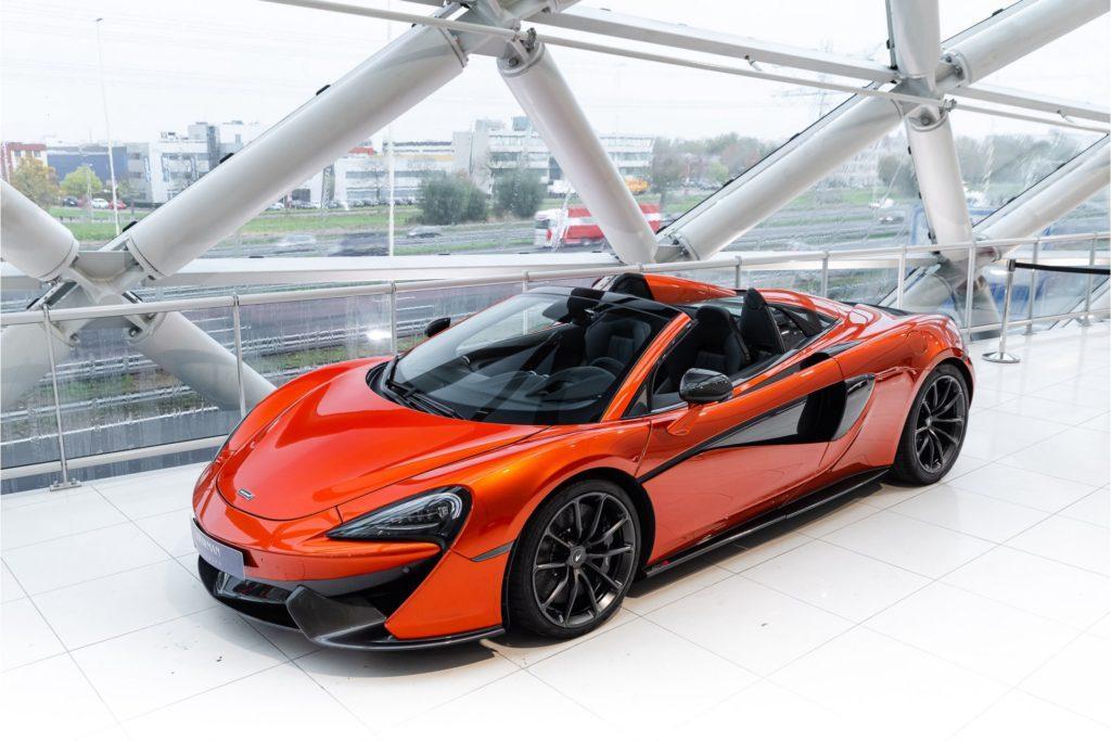 McLaren 570 S Spider 3 4 voor boven