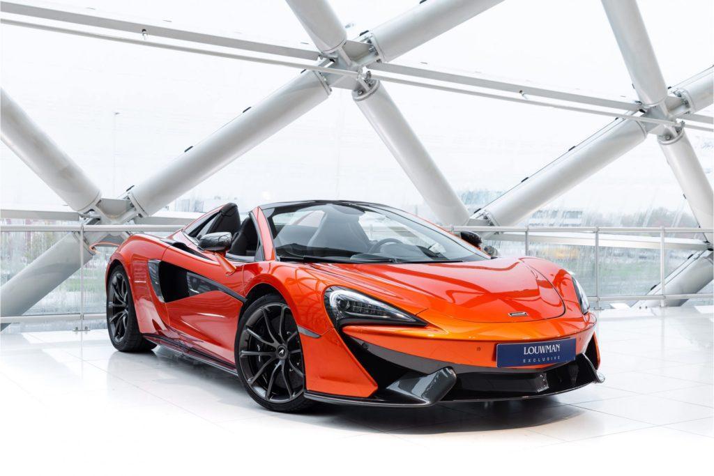 McLaren 570 S Spider 3 4 voor