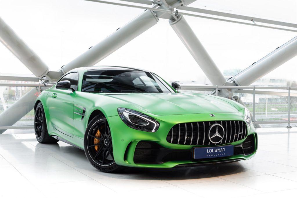 Mercedes AMG GT R Louwman Exclusive 3 4 voor