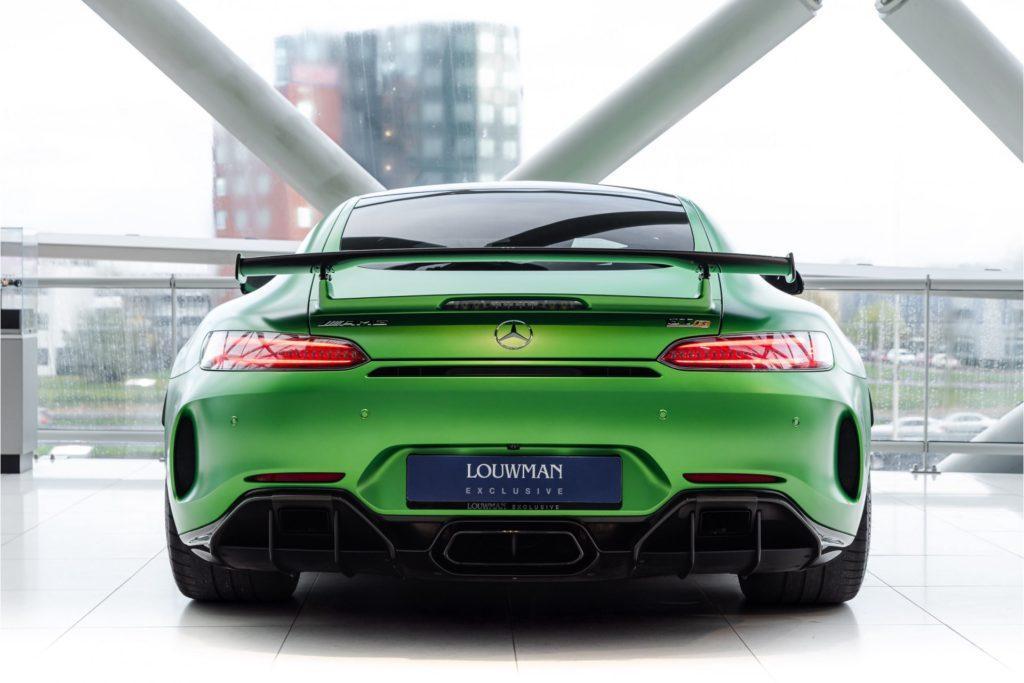 Mercedes AMG GT R Louwman Exclusive recht achter