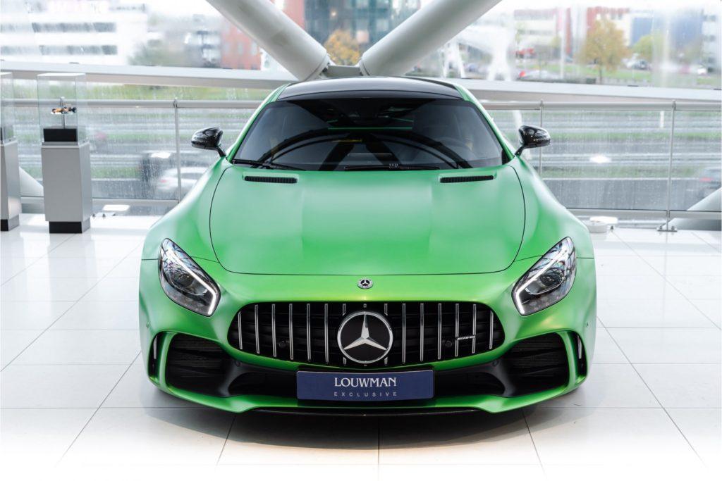 Mercedes AMG GT R Louwman Exclusive recht voor boven