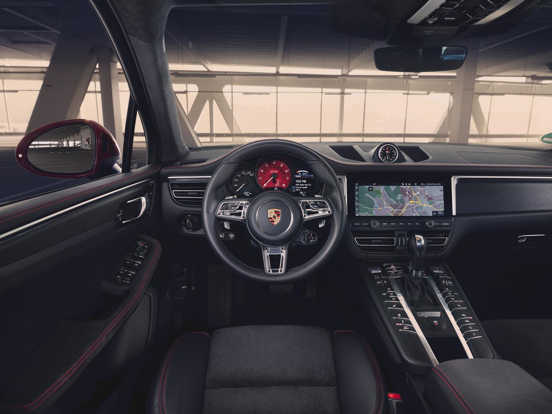 Porsche Macan GTS interieur dashboard