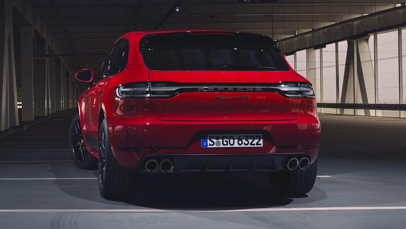 Porsche Macan GTS in parkeergarage