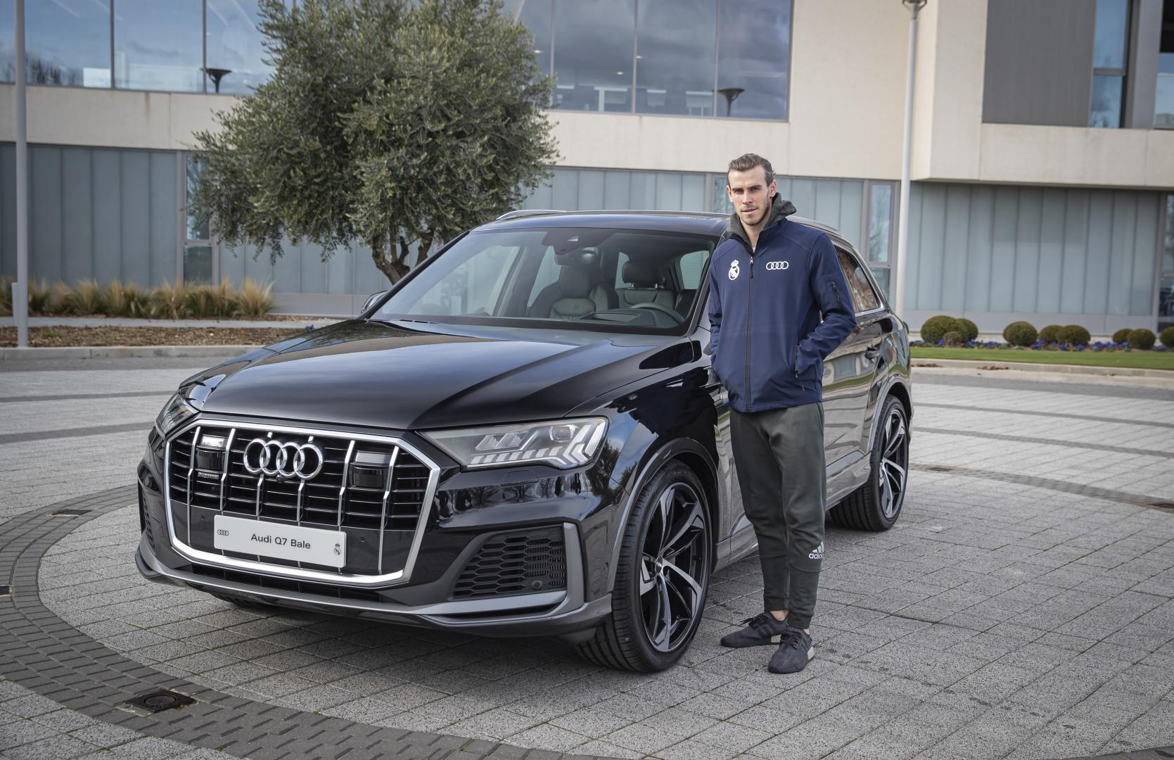 Real Madrid Audi Q7 Bale