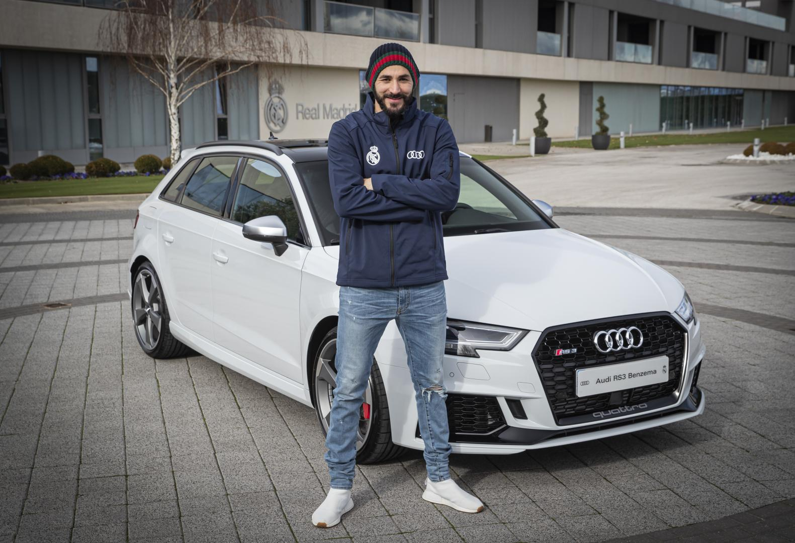 Real Madrid Audi RS3 Benzema