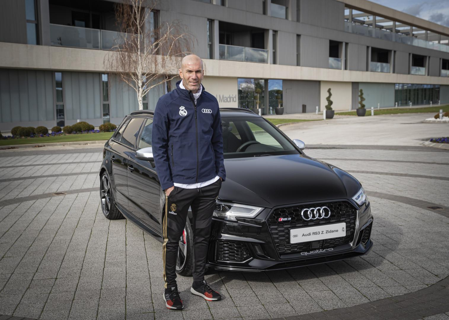 Real Madrid Audi RS3 Zidane