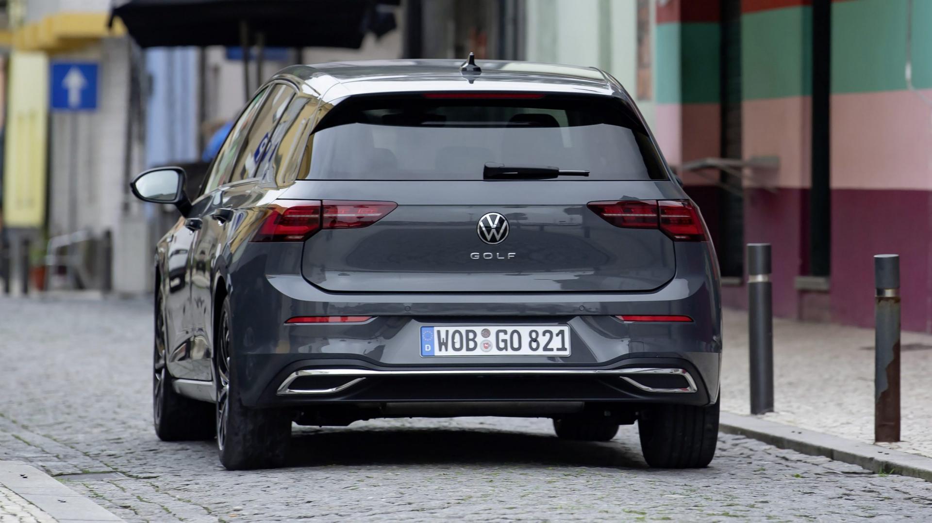 Volkswagen Golf 8 achterkant