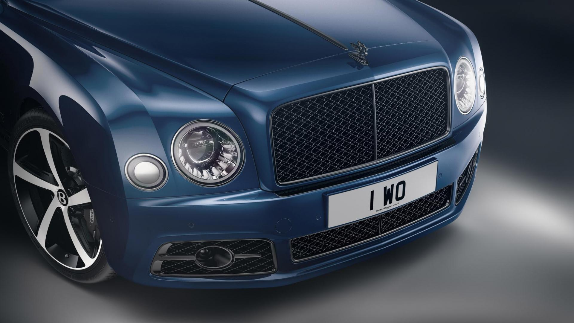 Bentley Mulsanne 6.75 Edition by Mulliner grille koplampen
