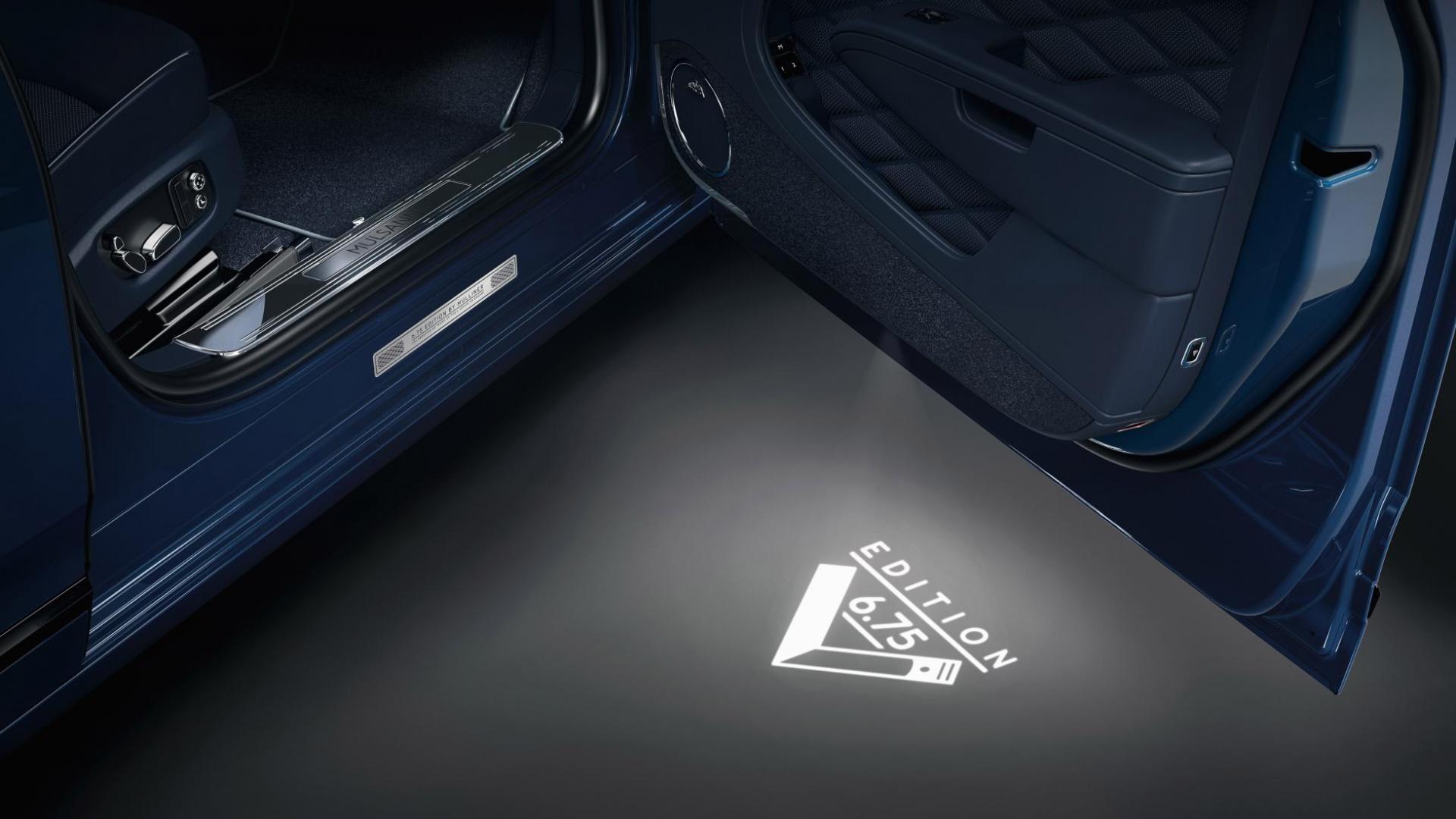 Bentley Mulsanne 6.75 Edition by Mulliner deur lampje projectie logo