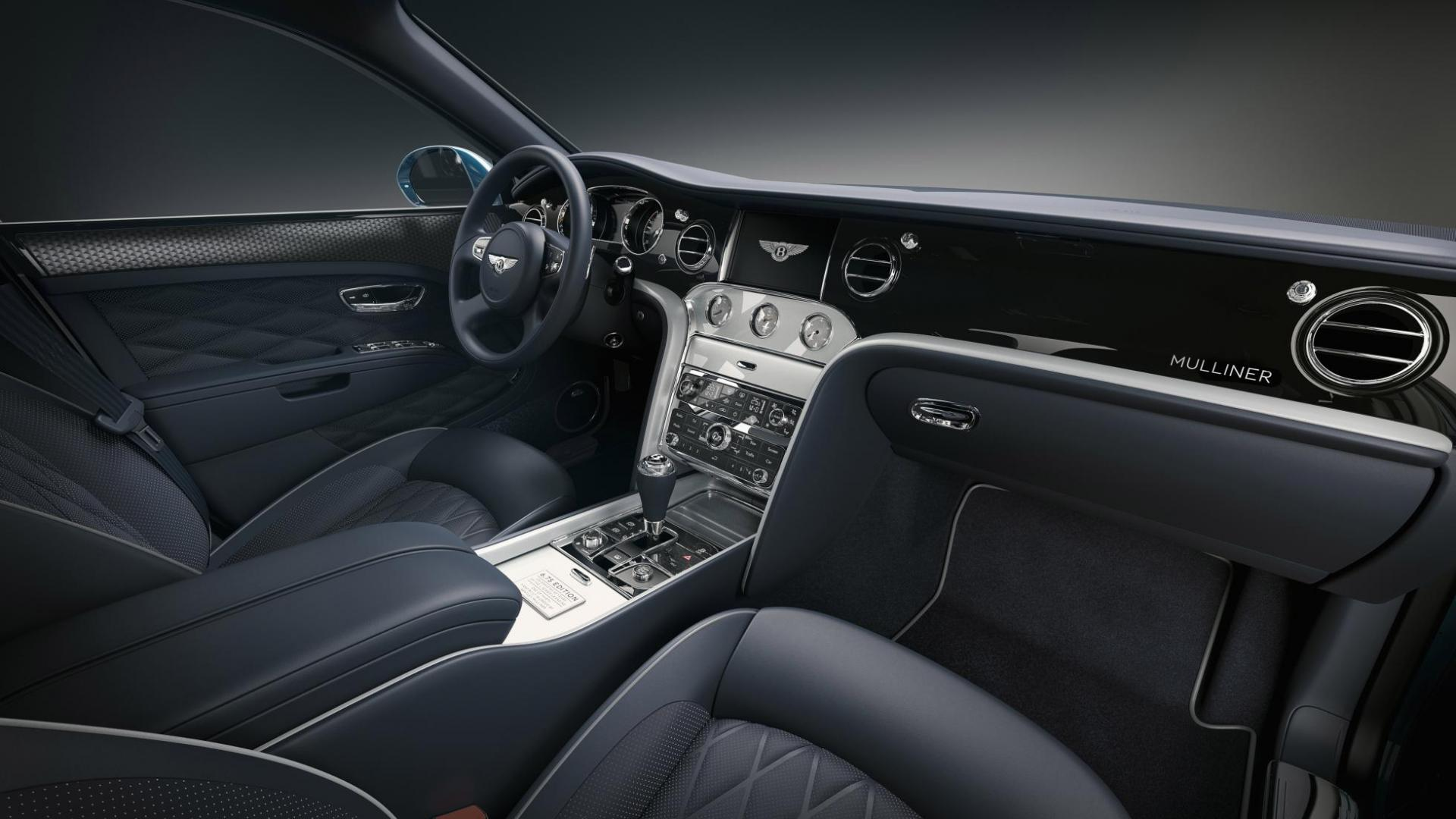 Bentley Mulsanne 6.75 Edition by Mulliner interieur dashboard