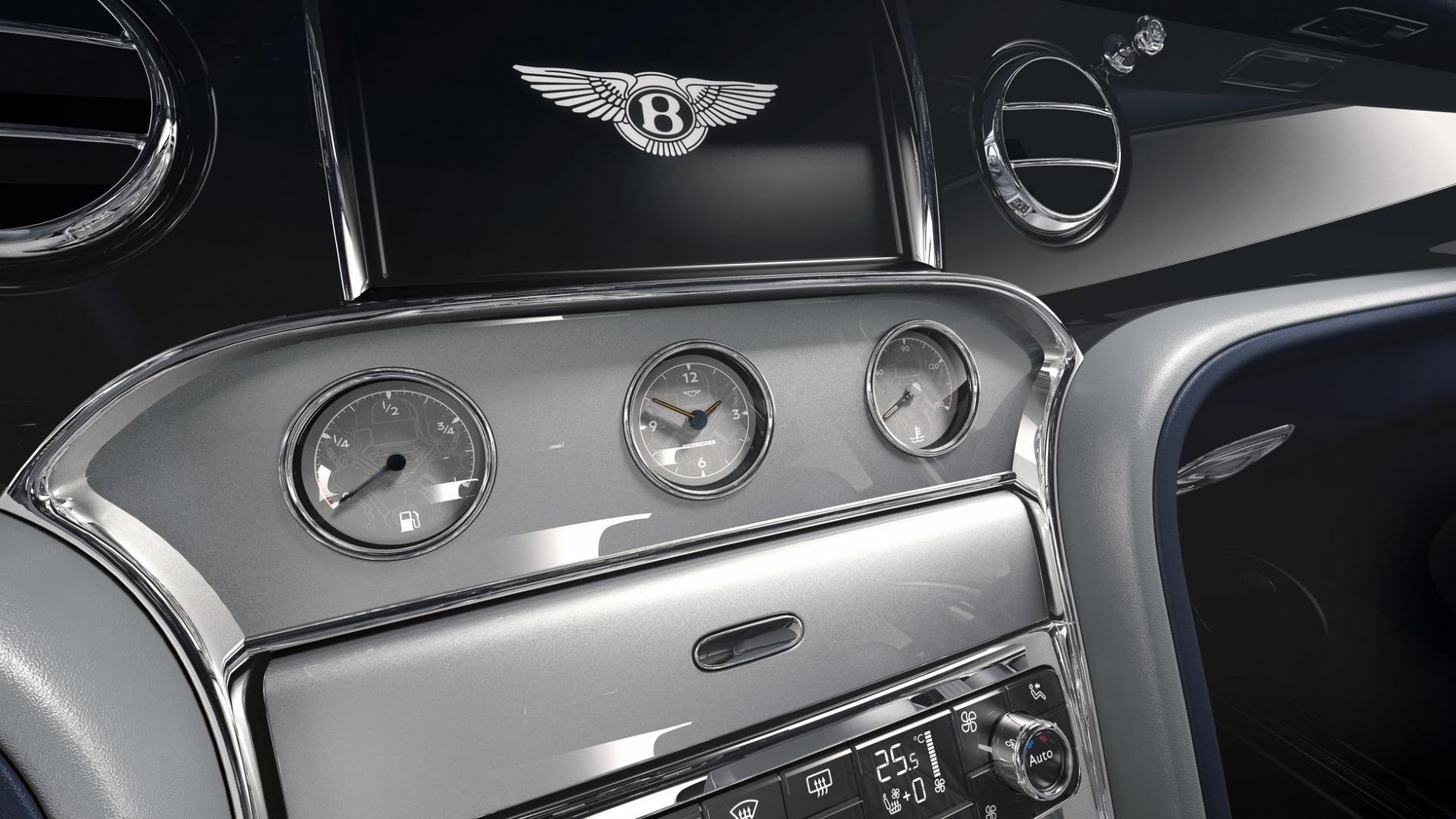 Bentley Mulsanne 6.75 Edition by Mulliner dashboard meters scherm interieur