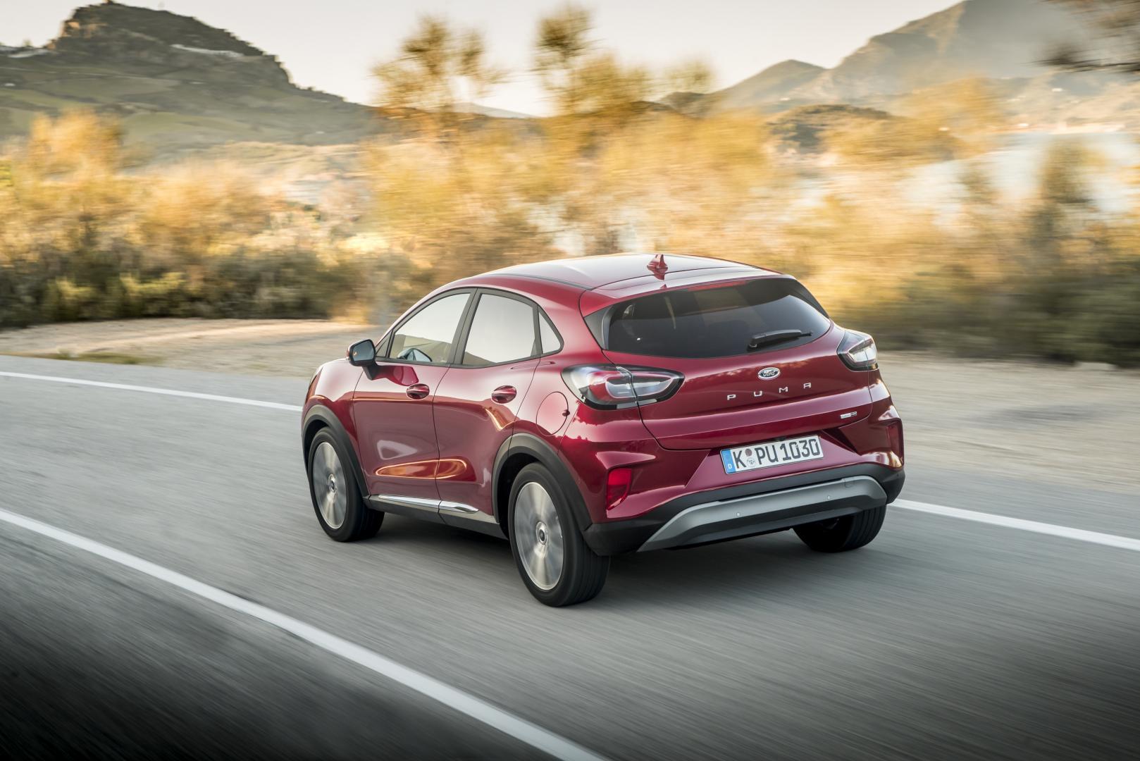 Ford Puma: 1e rij indruk TopGear