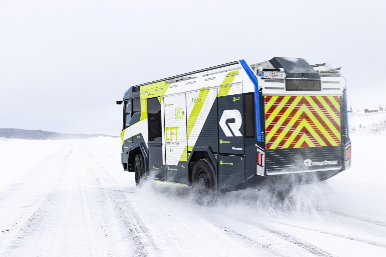 Elektrische brandweerwagen