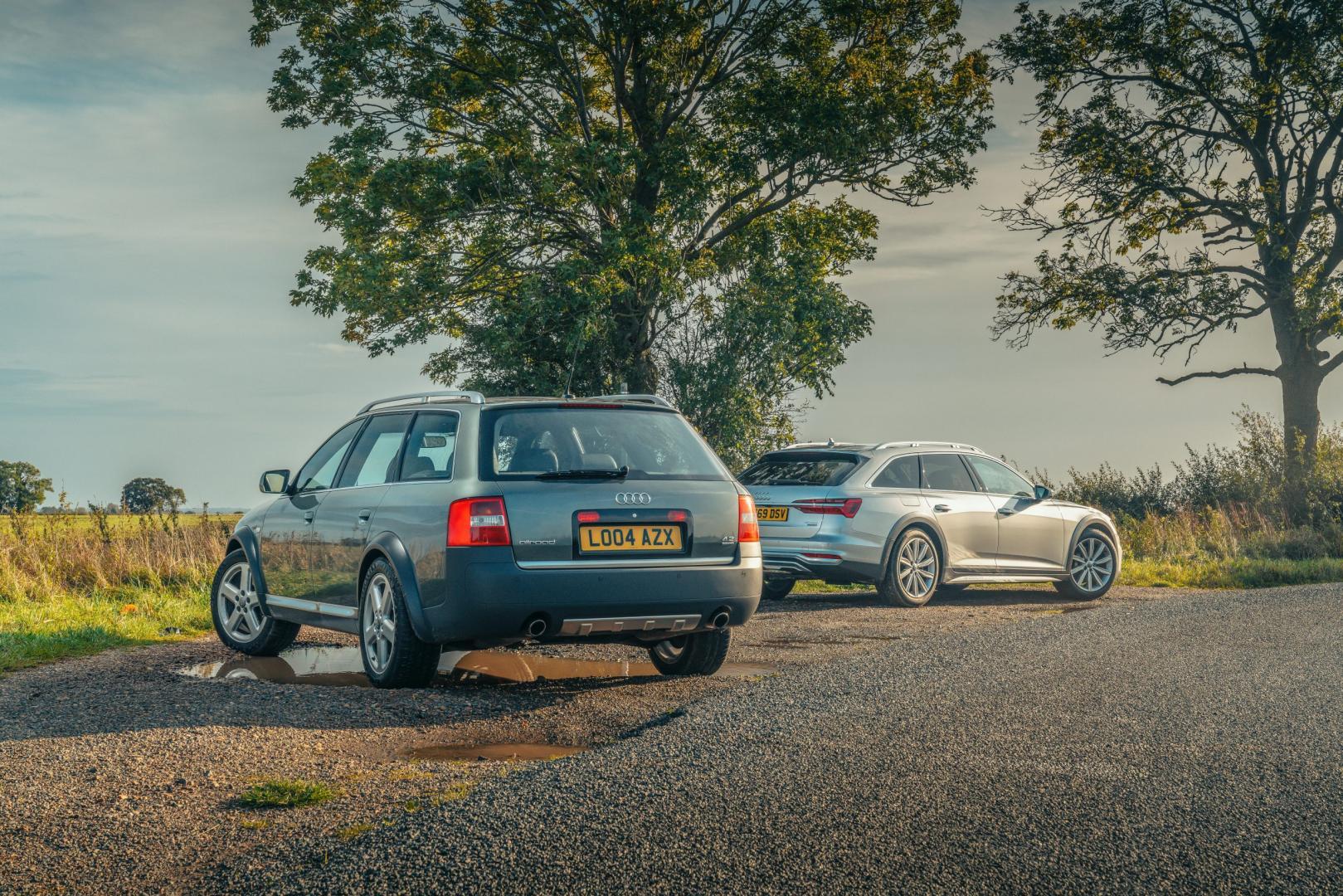 Audi A6 Allroad: oud vs nieuw