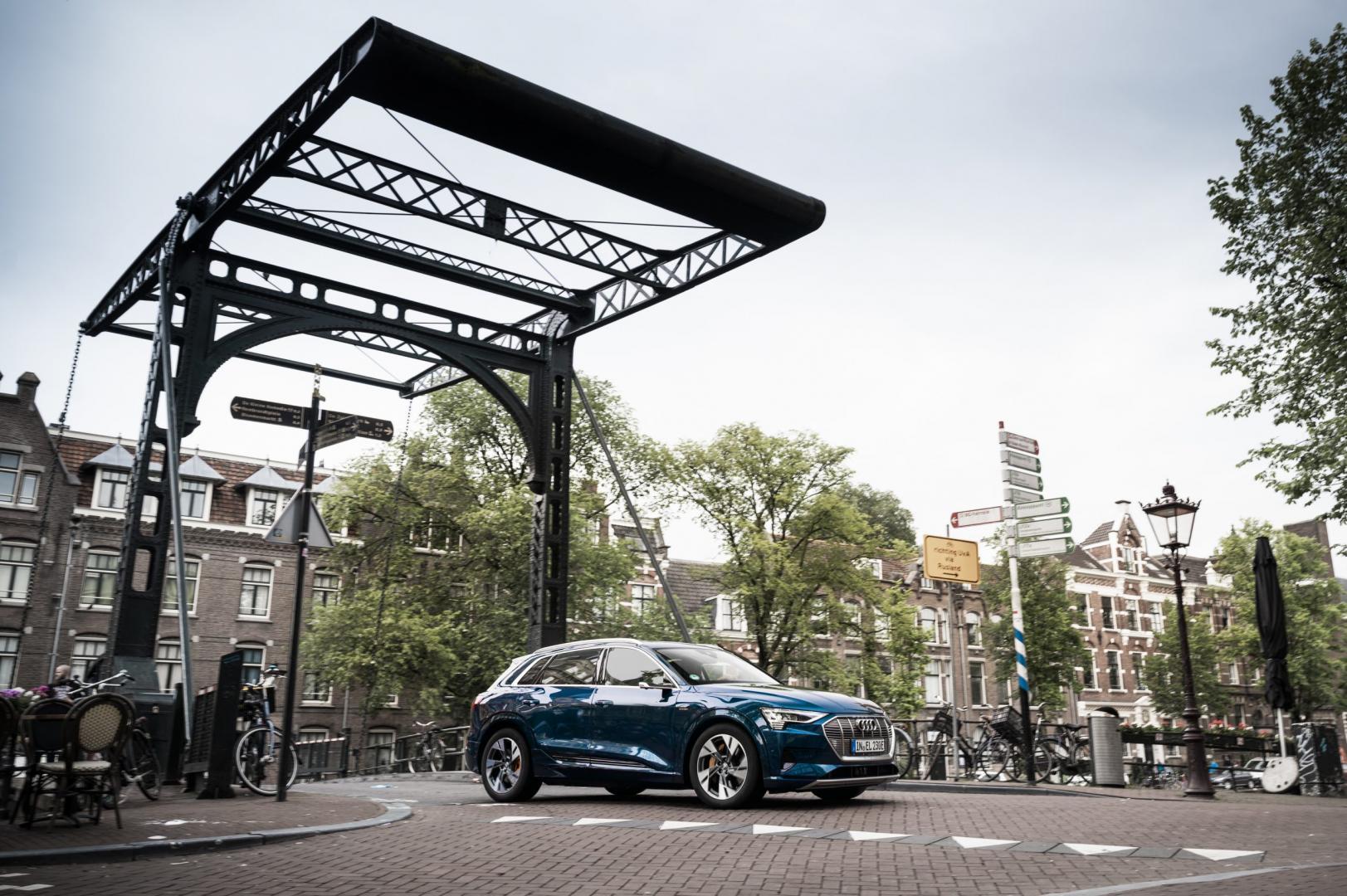 Audi e-tron in Nederland