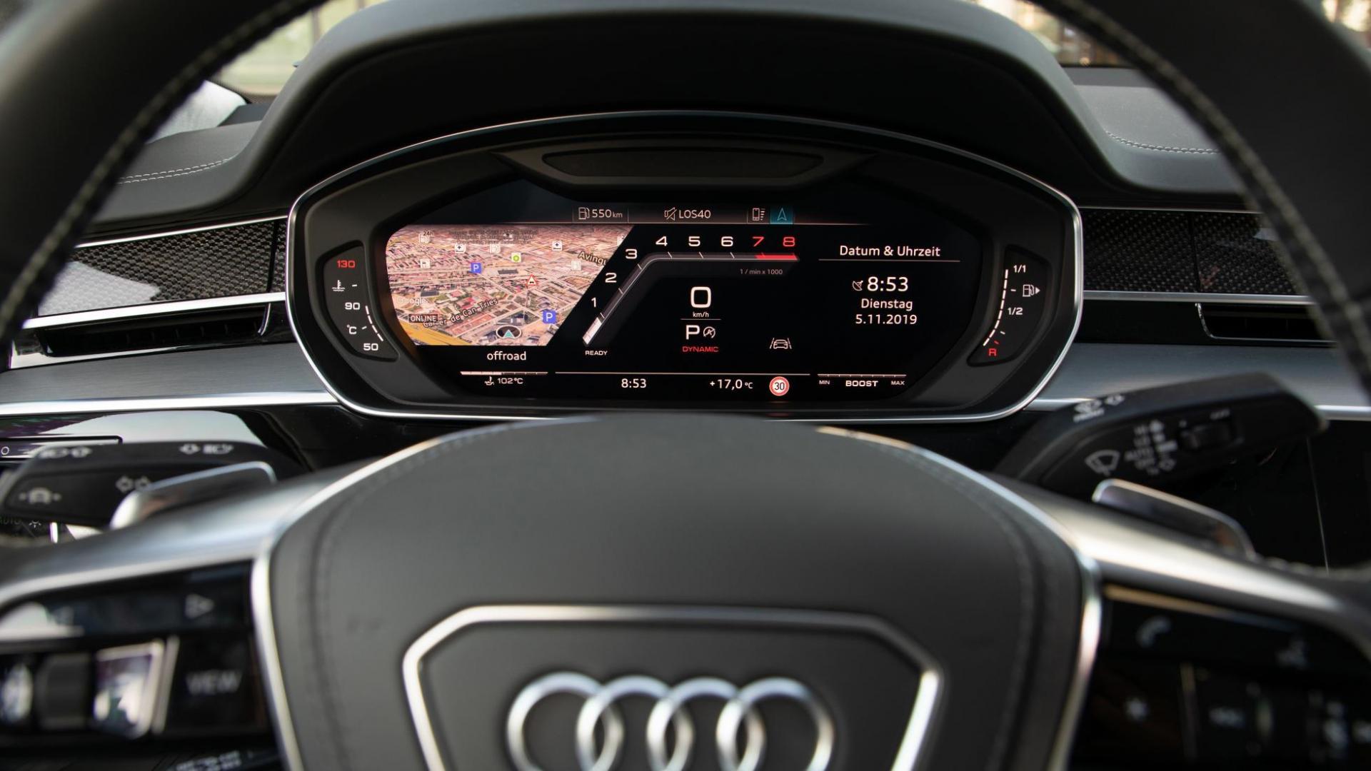 Audi S8 2020 interieur