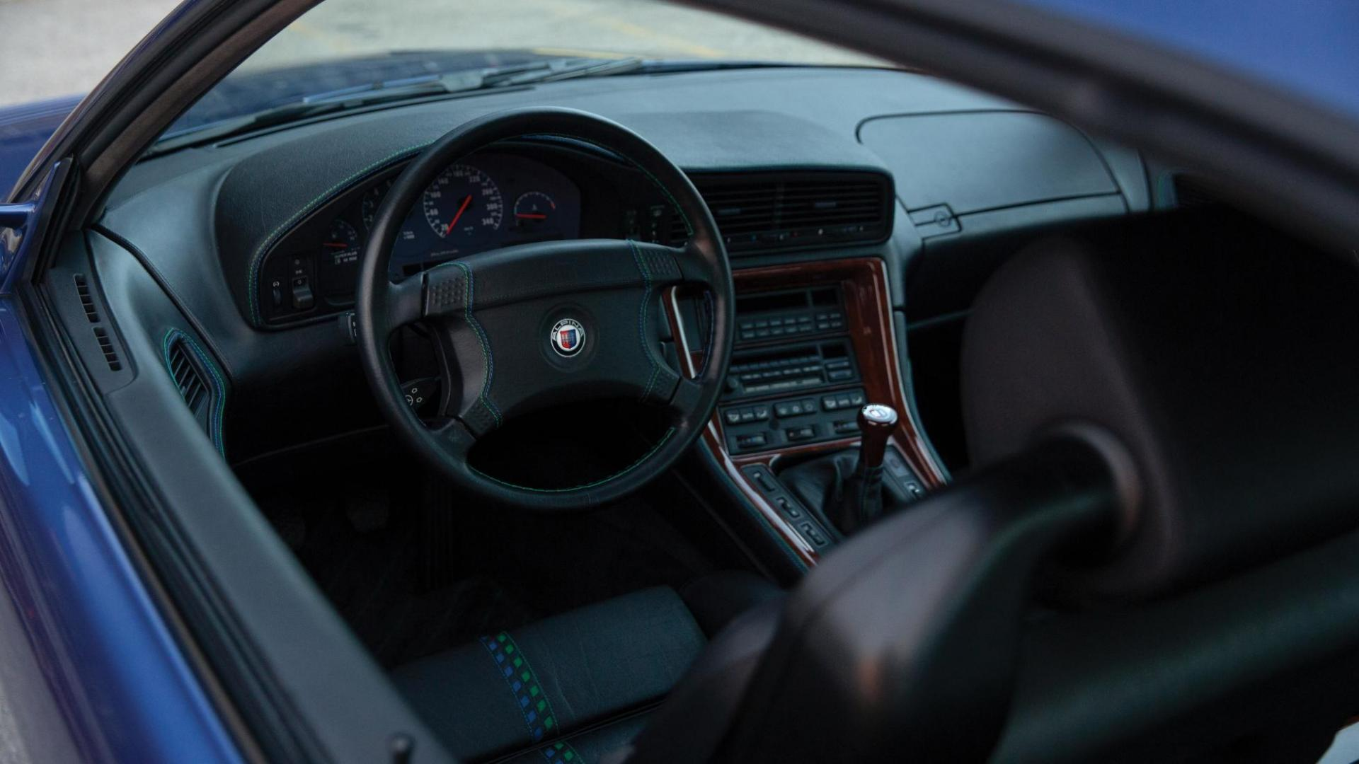 BMW Alpina B12 5.7 Coupe 1993 interieur
