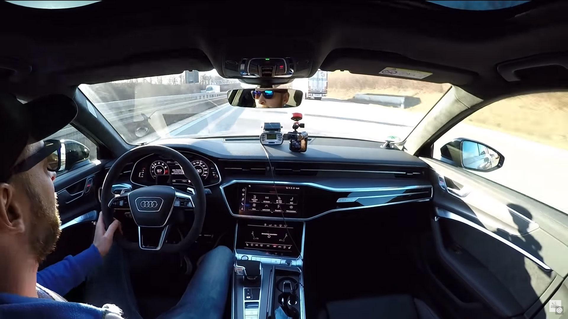 HGP Audi RS 6 op de Autobahn