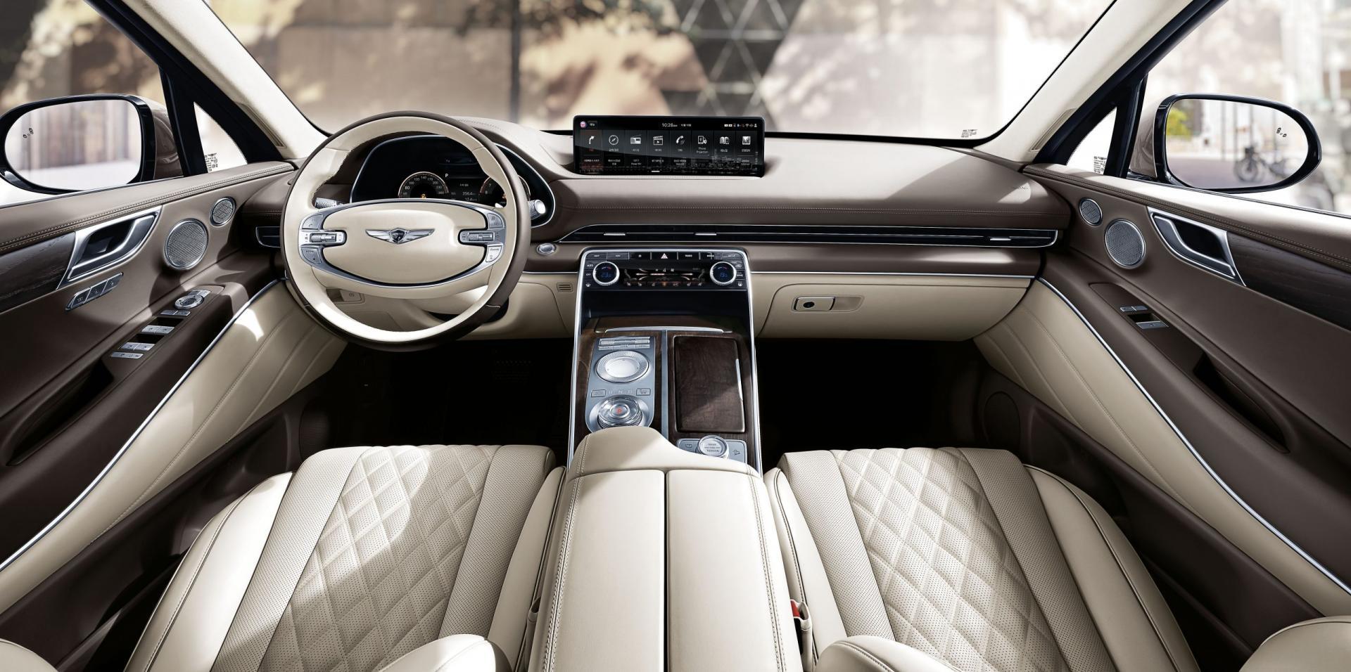Hyundai GV80 interieur dashboard